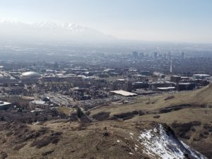 Salt Lake from Red Butte